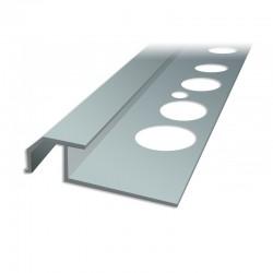 Profil schodowy SC3 - schody wewnętrzne z okładzinami ceramicznymi
